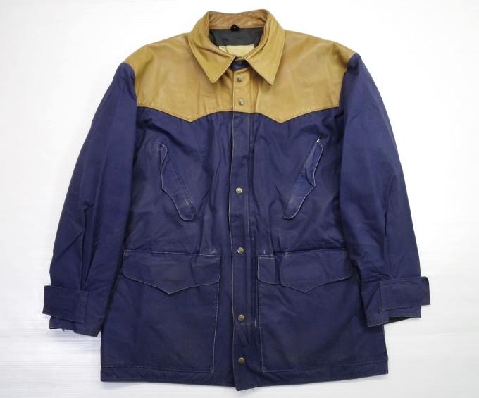 画像1: 80's Schaefer outfitter マウンテンパーカー L 紫/ビンテージ