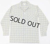 デッドストック 50's「McKellar」長袖 ボックスウールシャツS/ ビンテージ