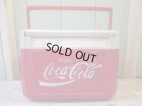 画像1: 90's USA製 コールマン コカコーラ クーラーボックス プラスチック/ビンテージ オールド