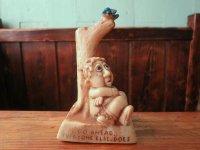 60's GO AHEAD 鳥 メッセージドール/ビンテージ アンティーク 人形 アメリカ雑貨 オブジェ