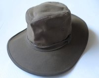 USA製 MINNETONKA ミネトンカ サファリハット 56cm M 茶系/オールド アメリカ古着 帽子 ビンテージ