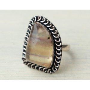 画像: ◆ ヨーロッパ仕入れ 925刻印 シルバーリング 15号/ビンテージ アンティーク ブロカント レトロ 指輪 アクセサリー 天然石